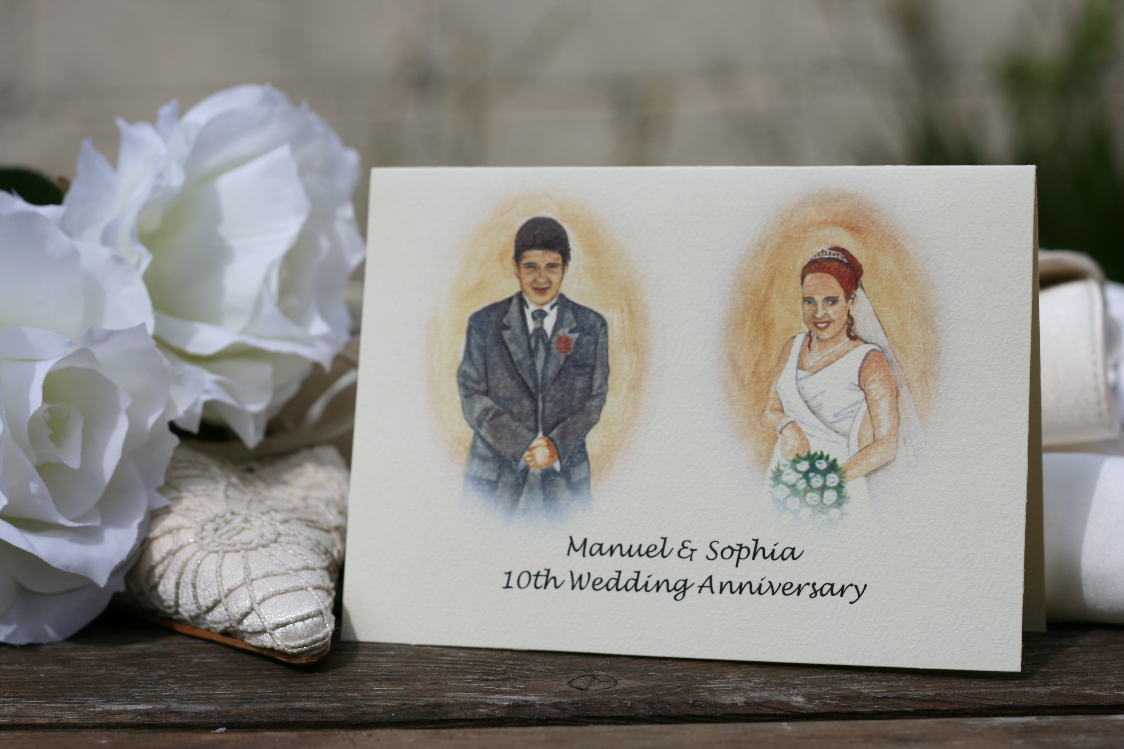 10th Wedding Anniversary Invitations